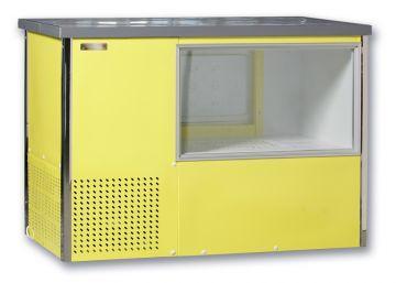 Стол-прилавок с охлаждаемый зоной витрины и запасником