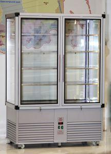 Кондитерская вертикальная витрина