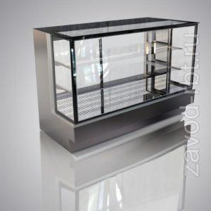 Горизонтальная холодильная витрина