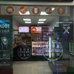 """Кафе г. Москва ВСК """"Ольга"""" 1,2 черный глянец"""