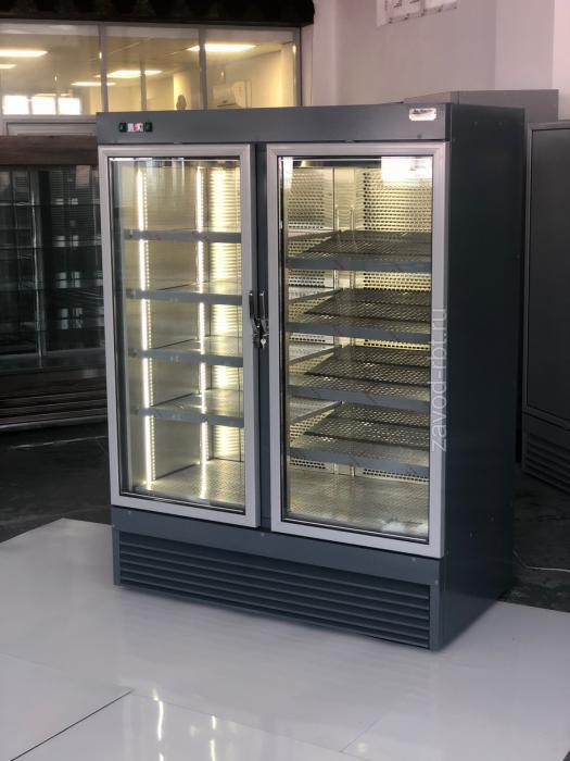 Шкаф холодильный ВВ-1000 двухдверный однокамерный (-14..-18) 1360*665*2000
