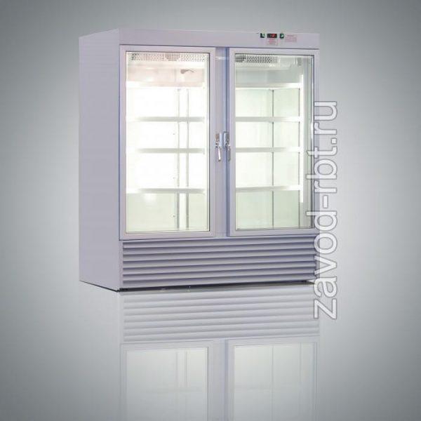 Шкаф холодильный ВВ-1000 двухдверный однокамерный (0..+7) 1360*665*2000